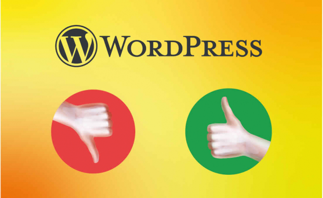 Website Development with WordPress: Pluses and Minuses