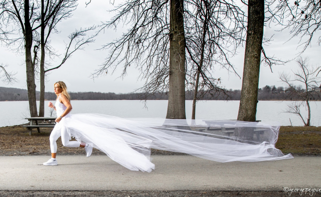 Woman Intends 285-mile run in her wedding Gown to raise Consciousness for narcissistic abuse