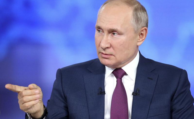 Putin claims that the US and UK are behind Black Sea's 'provocation