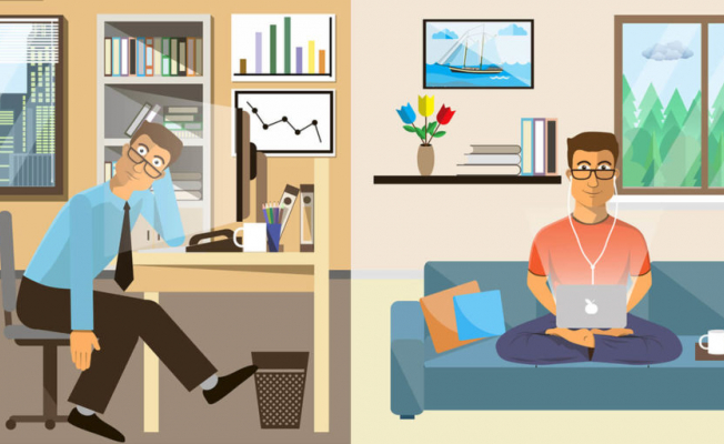 Remote working Vs In office