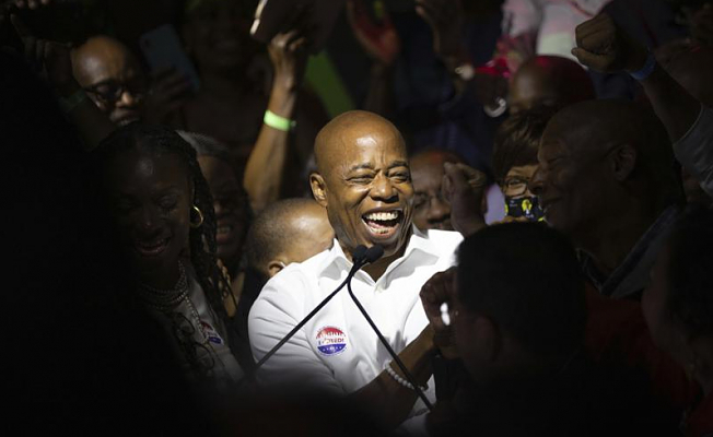 Eric Adams wins the Democratic primary in NYC's mayoral election