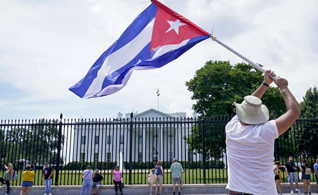 New political pressures are being applied to the US by Cuba and Haiti