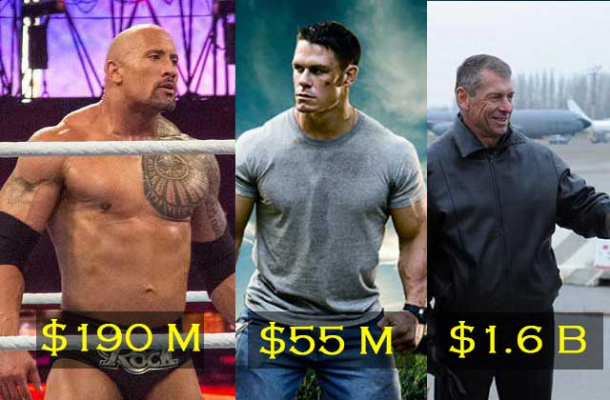Richest WWE Wrestlers in the World