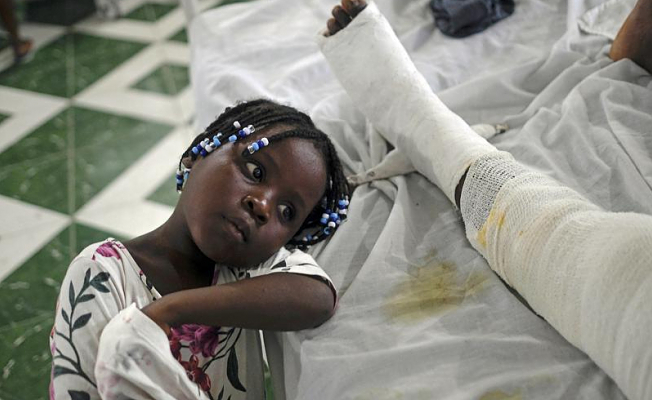 After the hospital release, there is no place to go for Haiti earthquake victims