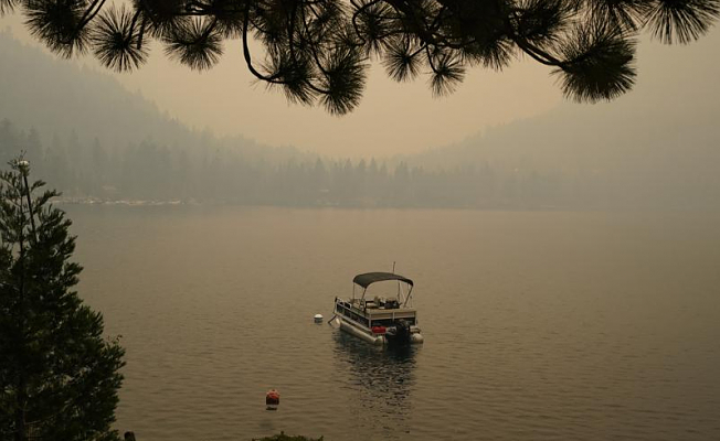 Lake Tahoe fires continue to burn