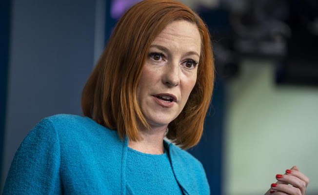 Psaki criticizes policies in blocking masks by states