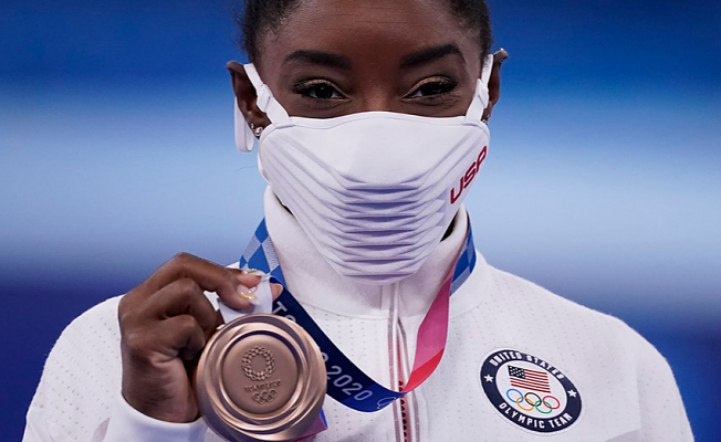 """Simone Biles, winner of the bronze medal: """"It means more that all the golds."""""""