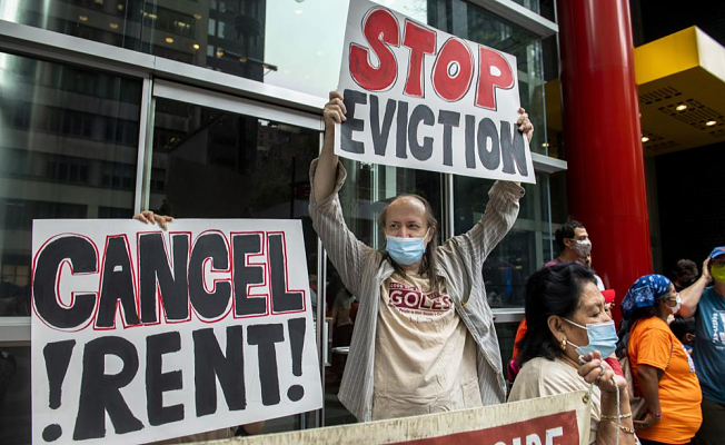 The end of the eviction ban will allow for pandemic lockouts resume