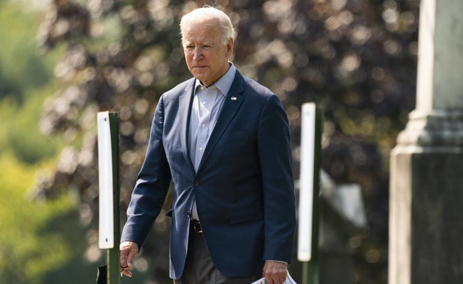 Biden will survey wildfire damage and make case for a spending plan