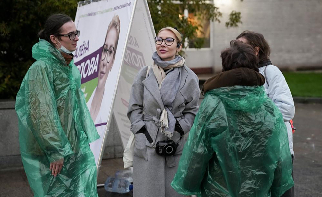 Russian feminists run for Duma in an effort to end domestic violence
