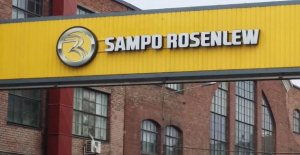 Combine harvester factory, Sampo-Rosenlew termination 16