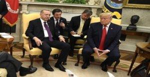 Erdogan shows senators and the White house Anti-Kurds-Video