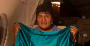 President skin Evo Morales flees on a Jet to Mexico