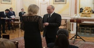 Putin met the mysterious super weapon in the testing of dead widows and I swear, that project is exported to the end