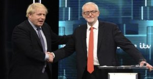Slugfest between Johnson and Corbyn in the TV-duel