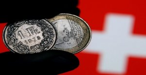 The Euro-franc exchange rate will not hold a brand of 1.10 long