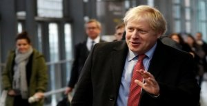 Johnson goes as a favorite in British parliamentary election