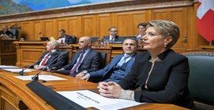 Keller-Sutter has to convince the FDP still