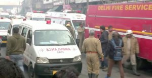 Over 40 killed in factory fire in Delhi