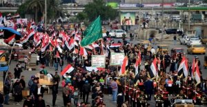 Thousands protest in Iraq after attack on protesters