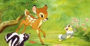 Disney, also Bambi returns, but after 80 years it is in the hyperrealistic style of the new 'The Lion King'