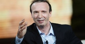For Roberto Benigni's career award in Paris. Here's my heart, I gift