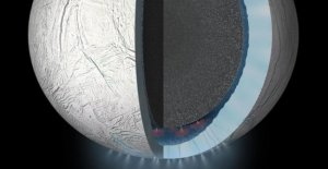 In the ocean of Enceladus as possible the conditions of life