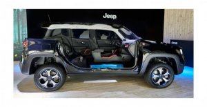 Jeep hybrid, you start out with Renegade and Compass