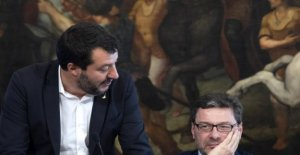 Salvini insults the Republic. Giorgetti: No quarrel with Matthew
