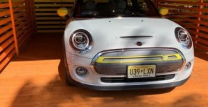 The Mini Cooper bride the green: Miami comes the version all the electrical