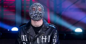 The rapper from the suburbs that after the success he has removed the mask