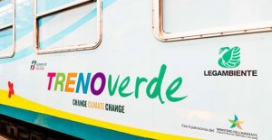 Again the Green Train of Legambiente, dedicated to changing climate