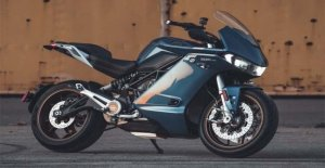 And the Zero Motorcycles raises with the tourer