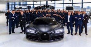 Bugatti Chiron, the product, the 250esimo exemplary