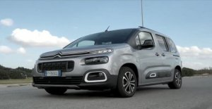 Citroen Berlingo, all in a car