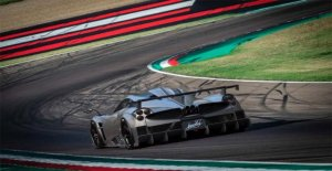 Pagani Imola, born for the track