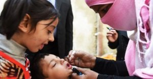 Pakistan, Campaign, anti-polio 40 million children