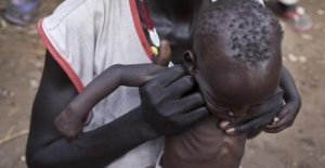 South Sudan hunger threatens more than half of the population of the Country