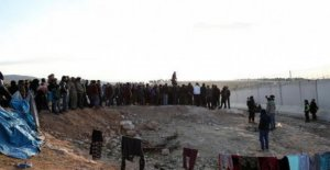 Syria, north-western, the humanitarian crisis desperate: by December, about 700,000 people have fled from Idlib and Aleppo