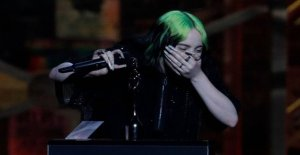 The Brit Awards, Billie Eilish in tears on the stage: Lately I have felt hated