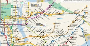 The New York city subway, the death of the father of the map iconic: one of the most consulted in the world