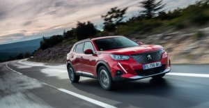 The Peugeot 2008, even in the special series Allure Ships Pack