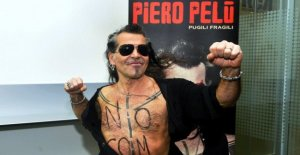 The 'Punches fragile', Piero Pelù, forty years of music and freedom
