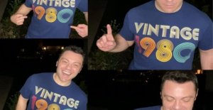 Tiziano Ferro celebrates 40 years: Thanks for the good wishes and love