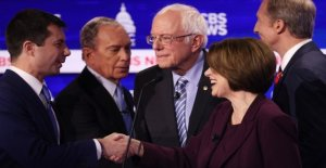 Usa 2020, for the democrats the last challenge tv before Super Tuesday is very important: all against the favored Sanders