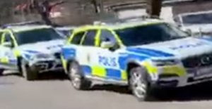 RIGHT NOW, the Boy stabbed in the neck at a high school in Gothenburg, sweden