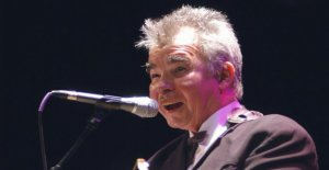 The legendary singer John Prine in a critical condition