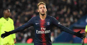 Neymar Jr. apparently dissatisfied and online betting on 1xBet goes crazy