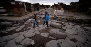 At Pompeii, some of the trails reopened to the public