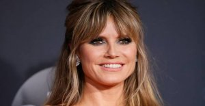 Heidi Klum broke down in tears